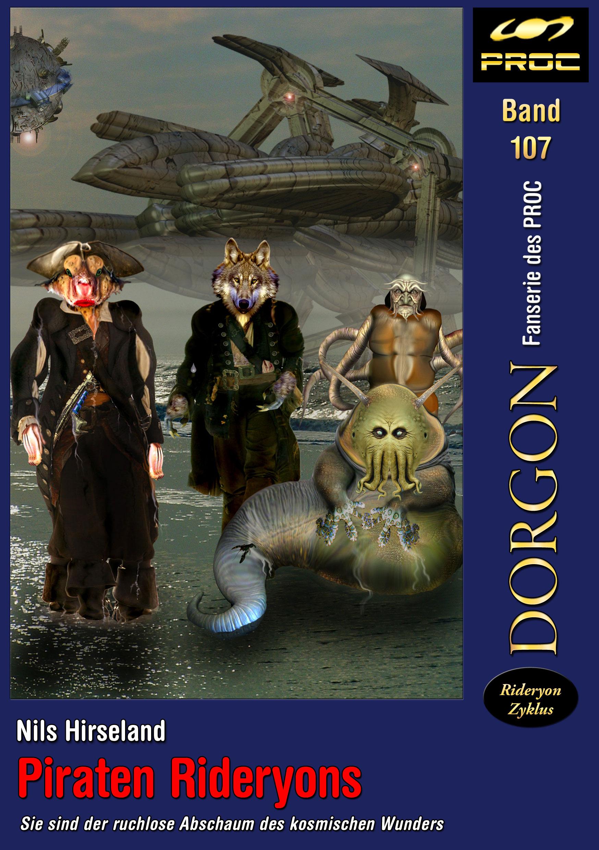 Cover zu DORGON 107 - Piraten Rideryons © John Buurman