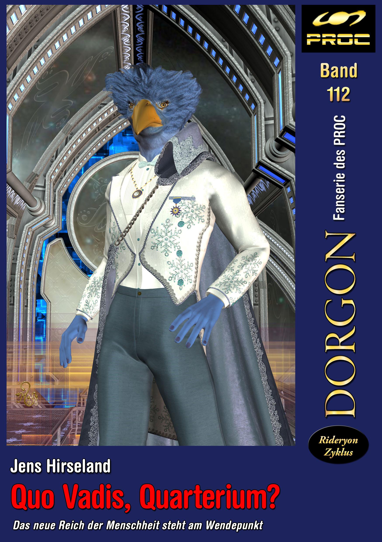 Cover zu DORGON 112 - Quo Vadis, Quarterium? © Gaby Hylla