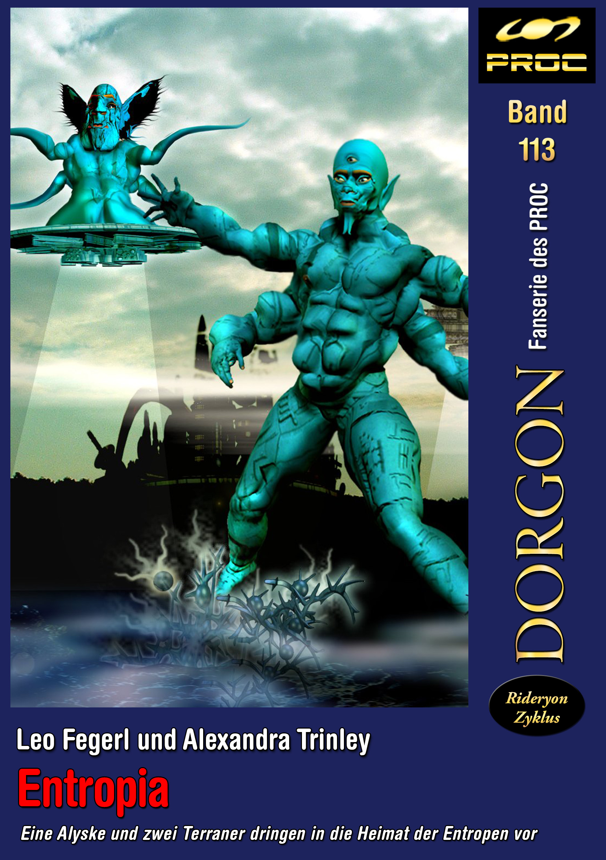 Cover zu DORGON 113 - Entropia © John Buurman