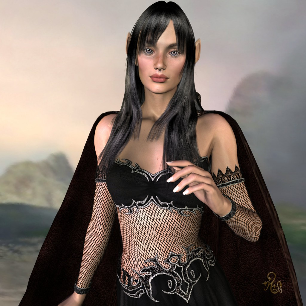 Die Alyske Elyn, Tochter des Eorthor. (C) Gaby Hylla