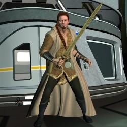 Der Ritter der Tiefe Gal'Arn (C) Gaby Hylla