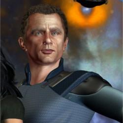 Der TLD-Agent Stewart Landry gez. Gaby Hylla