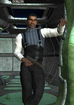Der TLD Agent Will Dean. (C) Gaby Hylla