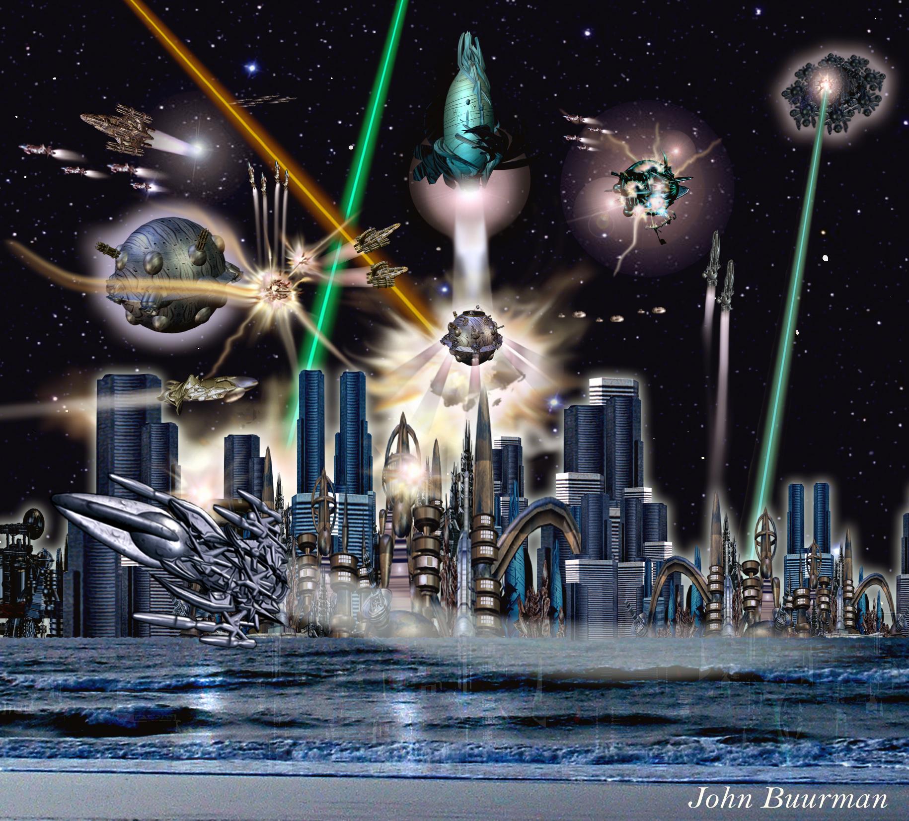 Angriff auf eine Stadt (C) John Buurman