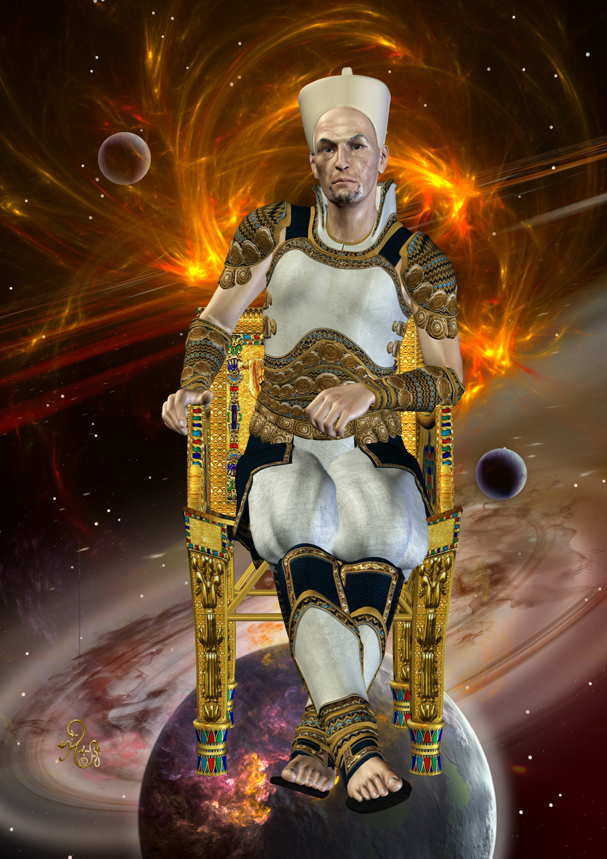 Der Kosmokrat Amun (C) Gaby Hylla
