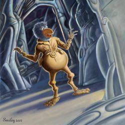 Der Somer Sruel Allok Mok - von den Terranern auch gerne Sam genannt. (C) Klaus G. Schimanski