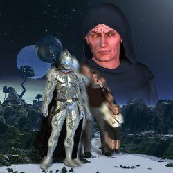 Cau Thon und die Entwicklung von Cauthon Despair zum Sohn des Chaos (C) Gaby Hylla