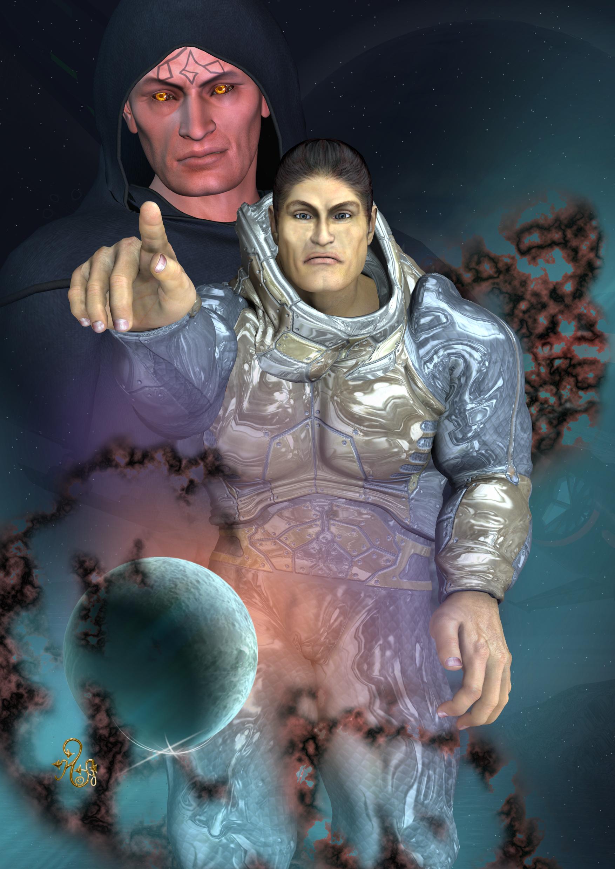 Die Söhne des Chaos Leticron und Cau Thon (C) Gaby Hylla