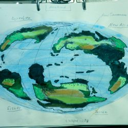 Landkarte des Planeten Mankind in der Galaxis Cartwheel. (C) 2016 - Stefan Wepil