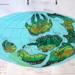 Planetenkarte von New Paricza in Cartwheel (C) Stefan Wepil