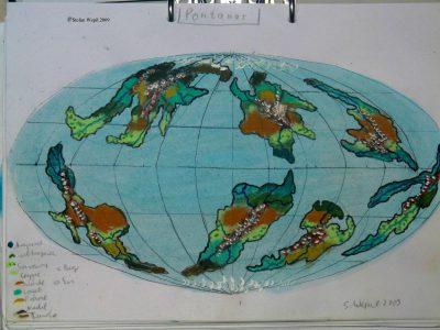 Pontanar Weltkarte (C) Stefan Wepil