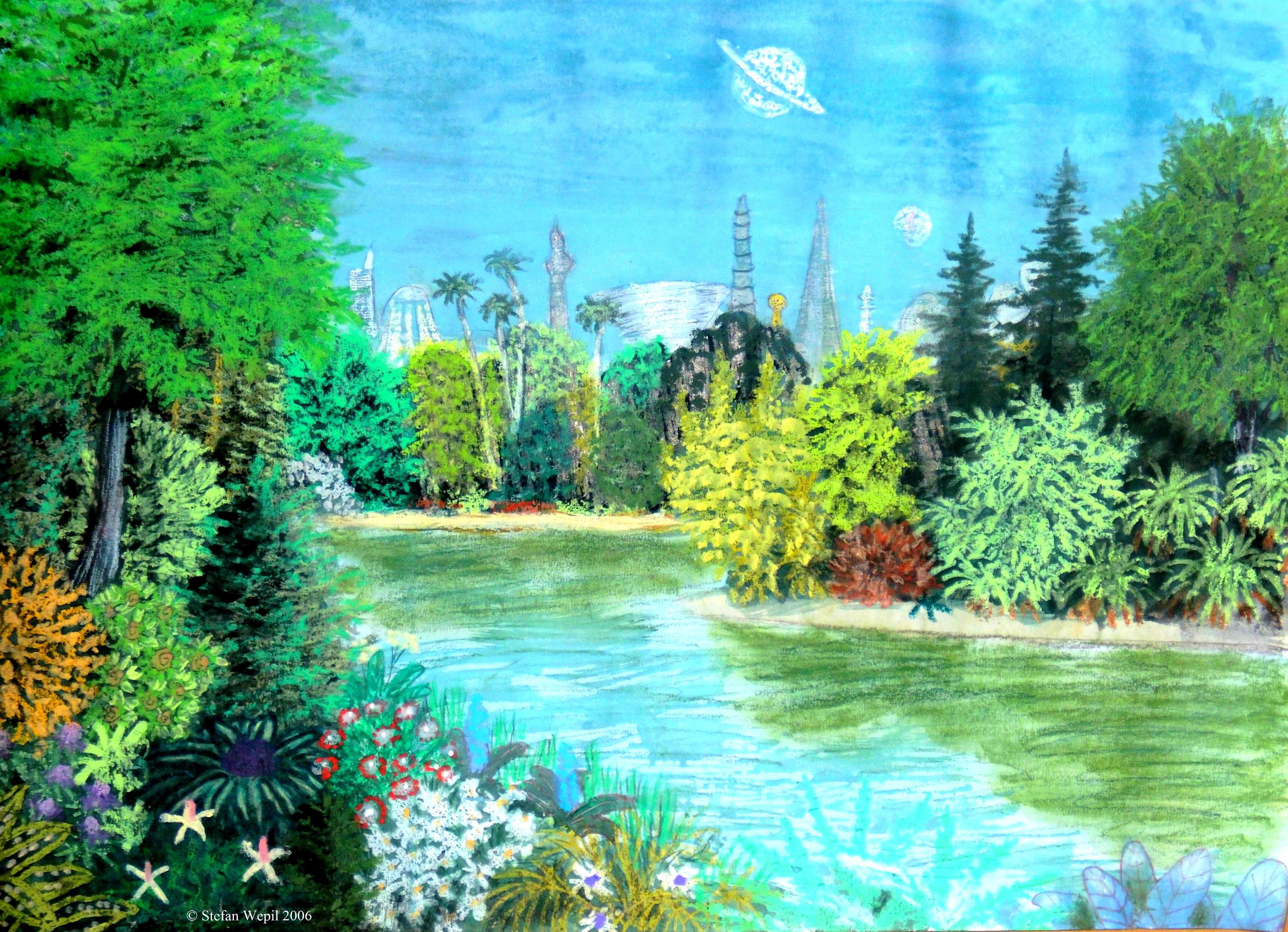 Ein Fluss auf Paxus (C) Stefan Wepil