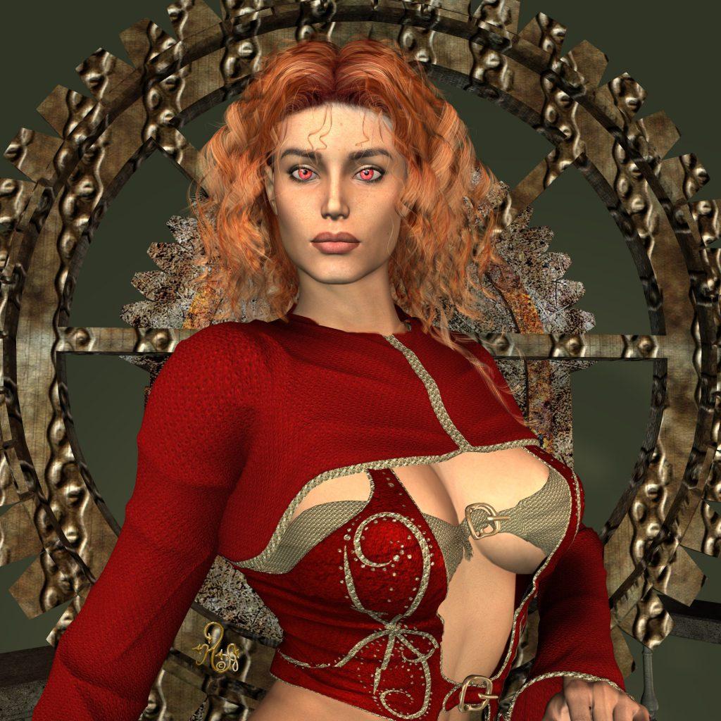 Rosan Orbanashol-Nordment in einem gewagten Outfit (C) Gaby Hylla