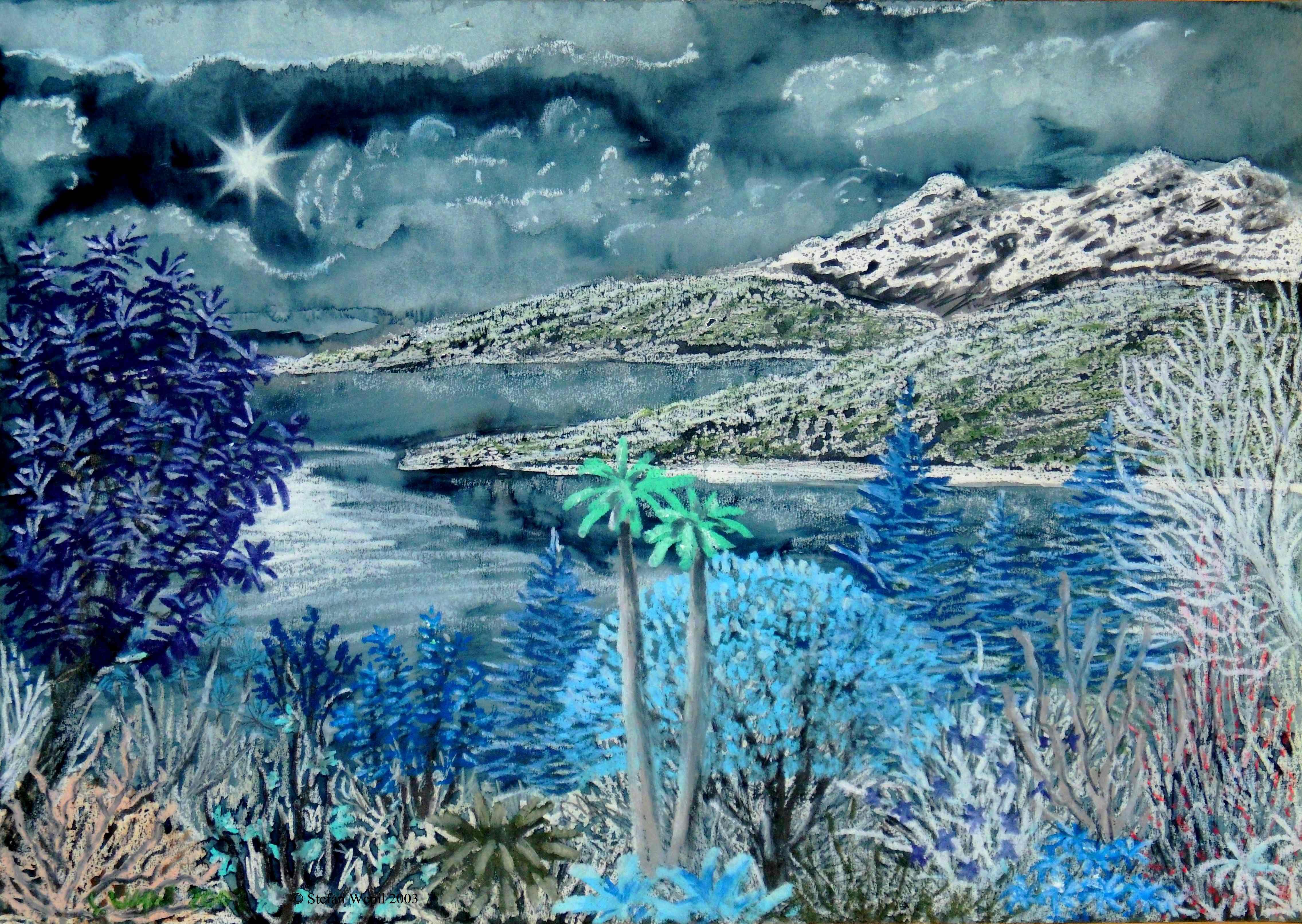 Landschaft von Trott in M 64 Saggittor (C) Stefan Wepil