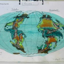 Weltkarte von Trott in M 64 Saggittor (C) Stefan Wepil