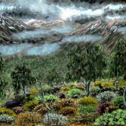 Düstere Landschaft von Zechon (C) Stefan Wepil