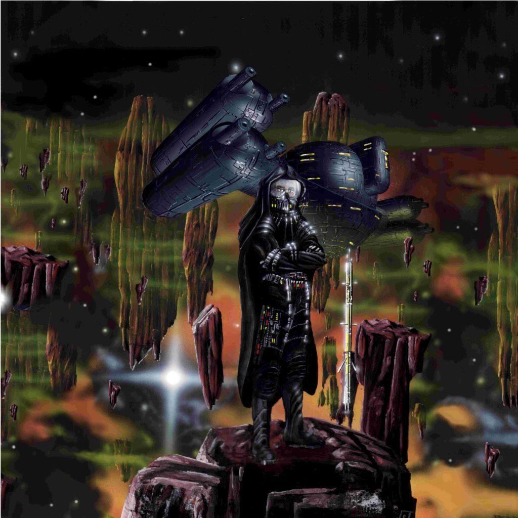Cau Thon - im Hintergrund sein Raumschiff KARAN (C) Stefan Lechner