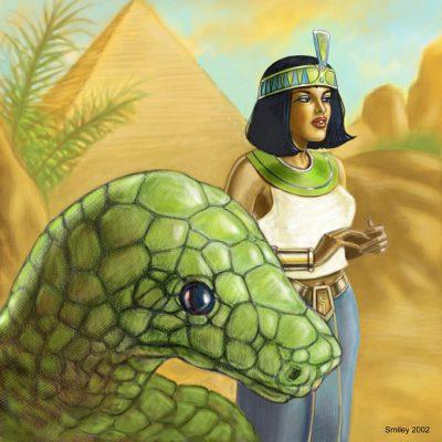 Der Kemete Apophis mit seiner Gespielin Nepher-Merit (C) Klaus G. Schimanski