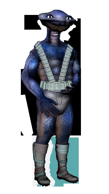 Ein Jülziisch (Blue) (C) John Buurman