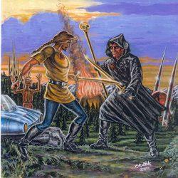 Cau Thon kämpft gegen Gal'Arn (C) Rüdiger W. Wick