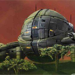 Die KARAN - das Raumschiff der Söhne des Chaos Cau Thon und Goshkan (C) Stefan Lechner