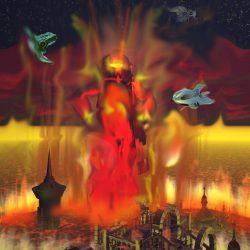 Die vor Wahnsinn und Hass brennende Inkarnation MODRORS - Rodrom! (C) Lothar Bauer