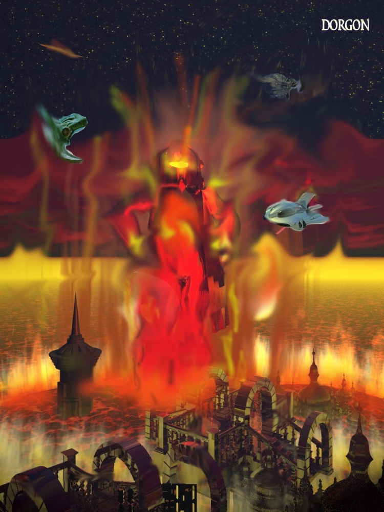 Die vor Wahnsinn und Hass brennende Inkarnation MODRORs – Rodrom! (C) Lothar Bauer