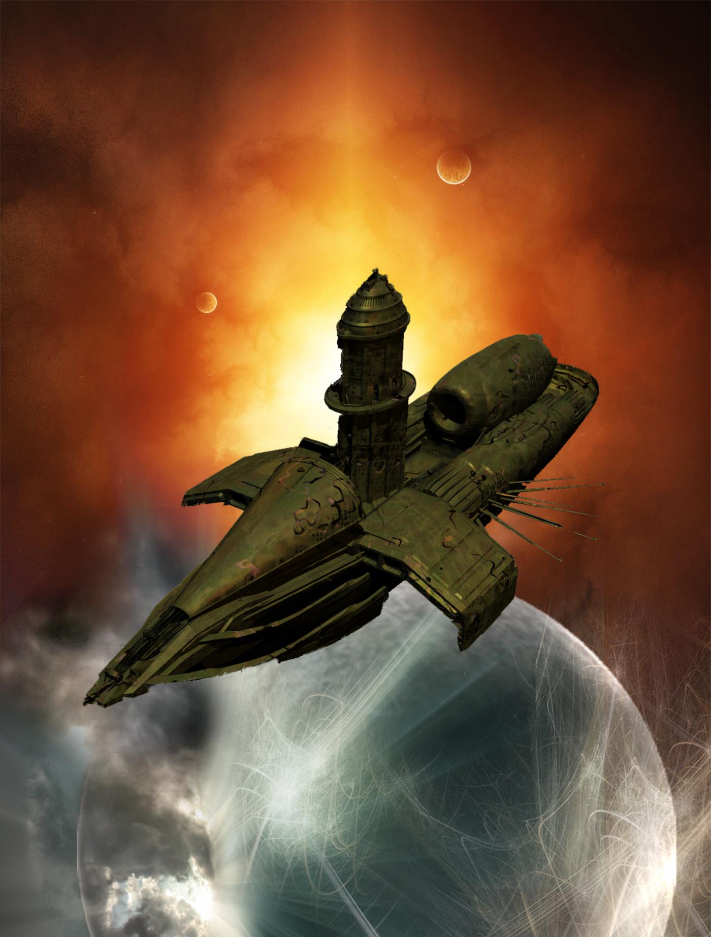Das rideryonische Raumschiff STERNENMEER