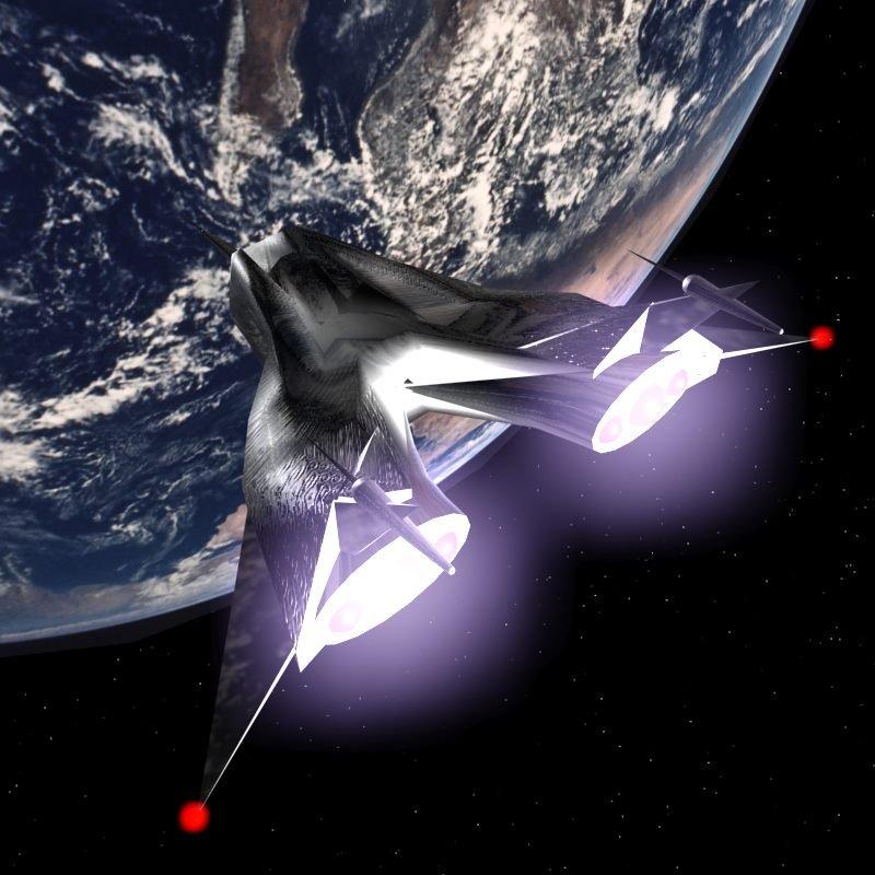 Die TERSAL - das Raumschiff des Ritters der Tiefe Gal'Arn. (C) Gerd Schenk