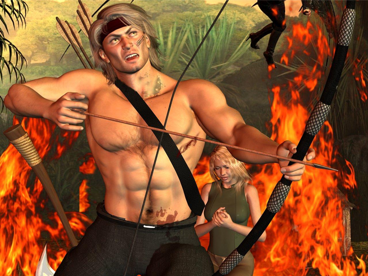 Sandal Tolk, der Barbar von Exotha Alpha. (C) Gaby Hylla