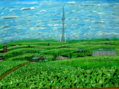 Der Vergillum-Hügel von Dom auf dem Planeten Dorgon (C) Stefan Wepil