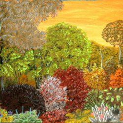 Landschaftsbild von Entrison, einer Welt in der Galaxis Barym (C) Stefan Wepil