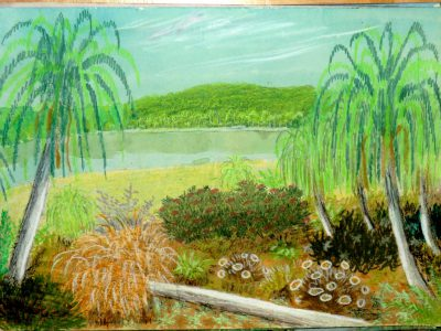 Landschaft auf der dorgonischen Welt Hesophia (C) Stefan Wepil