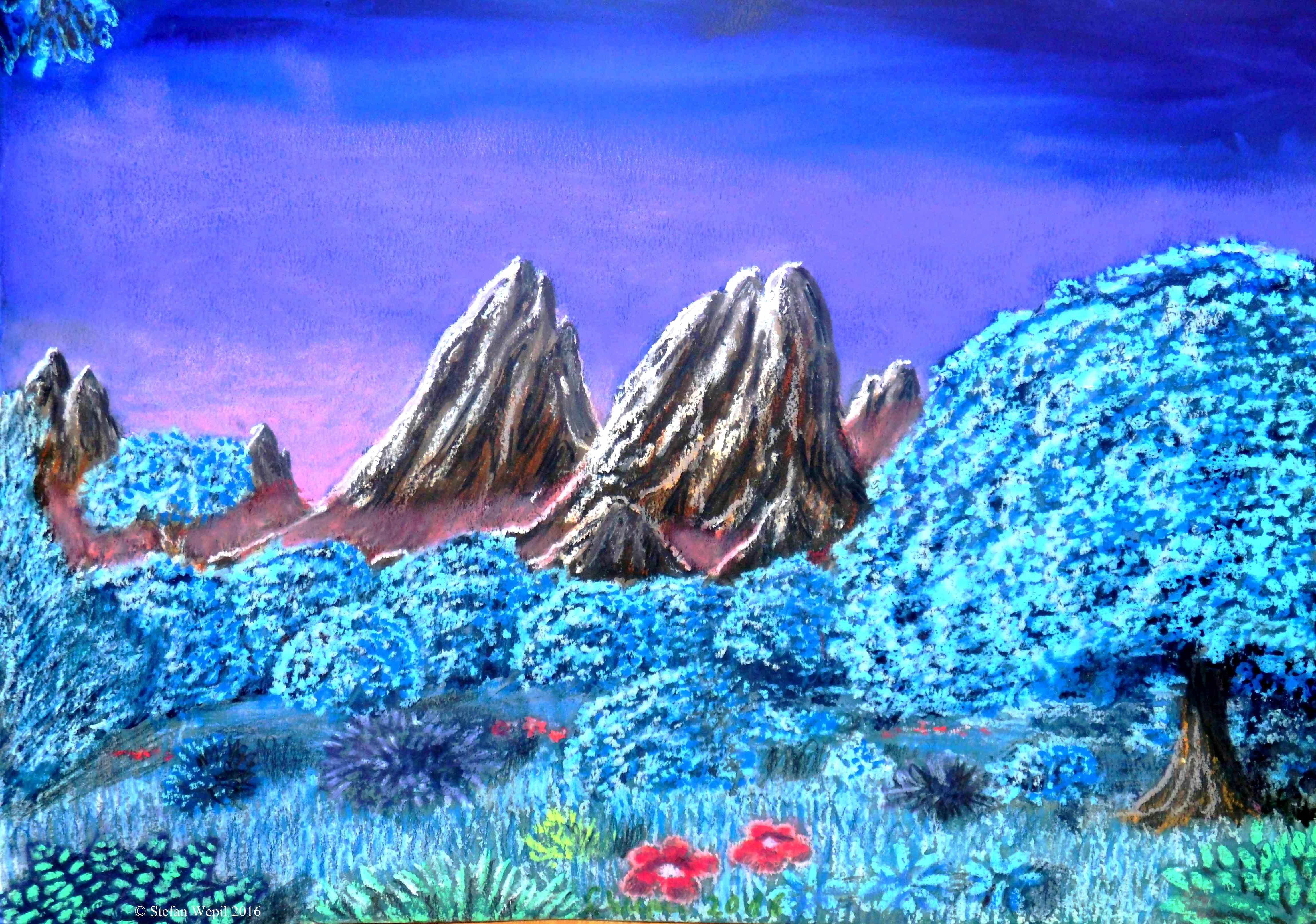Landschaftsbild von Jerrat (C) Stefan Wepil