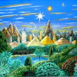 Landschaftsbild auf dem Planeten Kemet. (C) Stefan Wepil