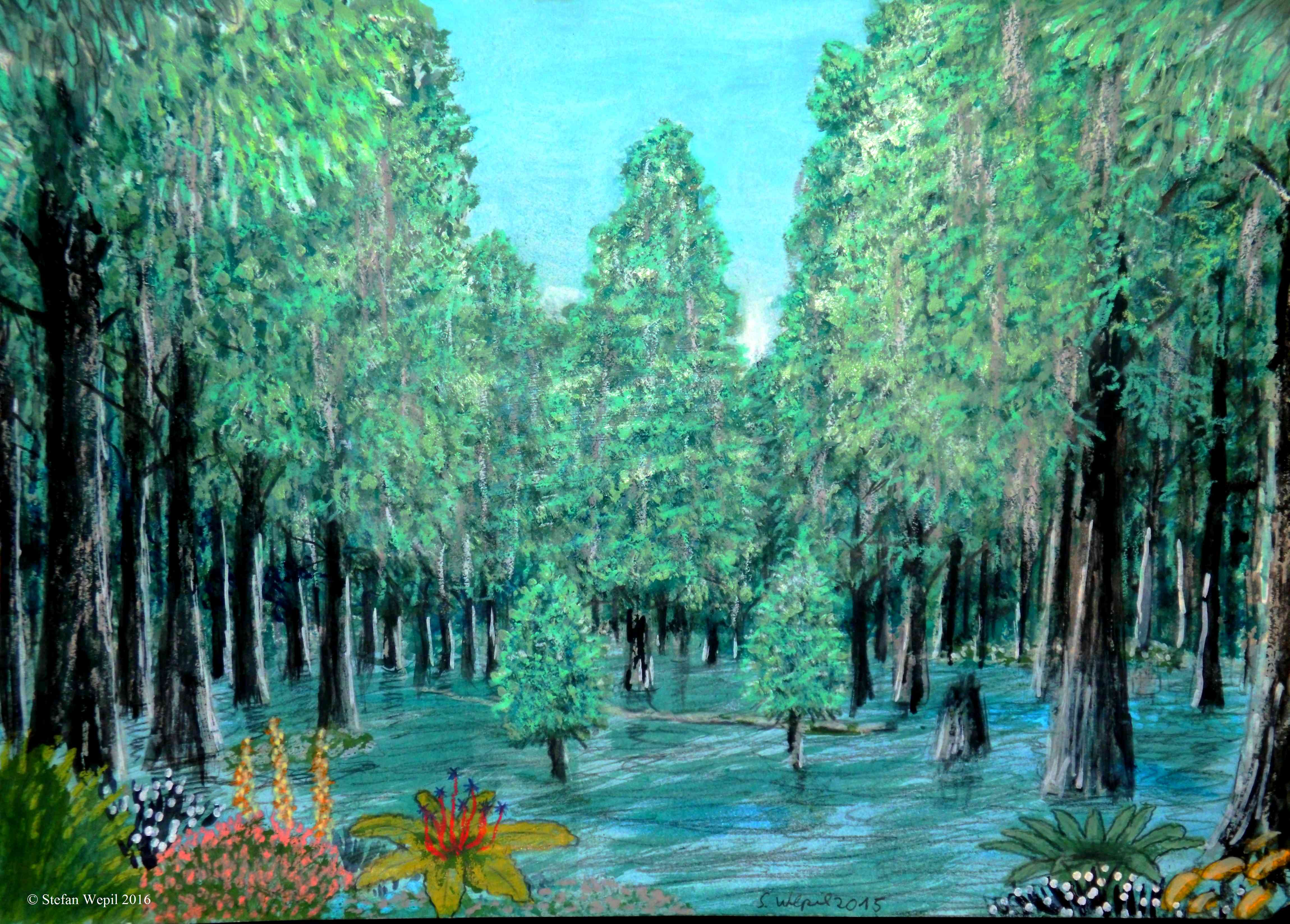 Die Feuchtwälder von NEles (C) Stefan Wepil