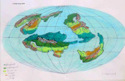 Weltkarte von Ophus in Cartwheel (C) Stefan Wepil