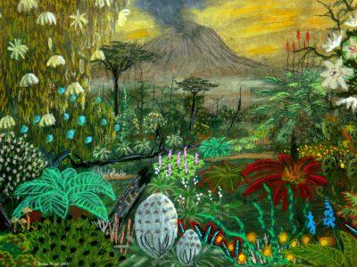 Landschaftsbild der Welt Upanishad in Cartwheel. (C) Stefan Wepil