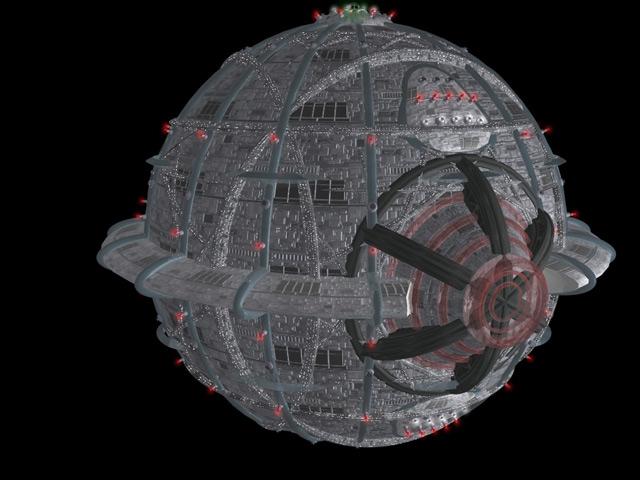 SUPREMO-Raumschiff des Quarteriums © Heiko Popp