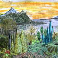Landschaft auf Koshan (C) Stefan Wepil