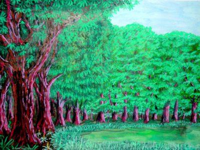 Der Beleskenwald von Dom auf dem Planeten Dorgon. (C) Stefan Wepil