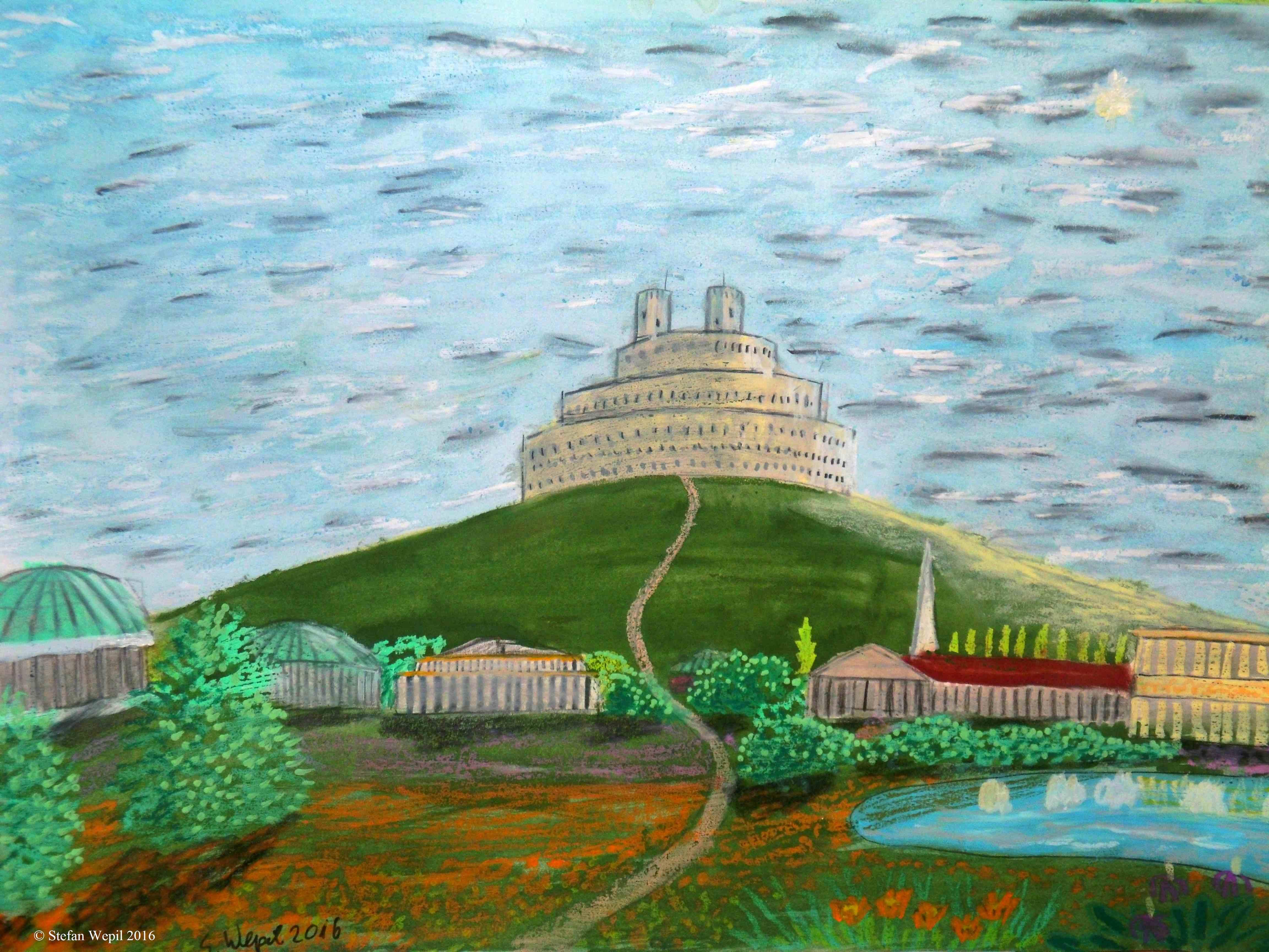 Die Paton-Zitadelle von Dom, der Hauptstadt des Planeten Dorgon. (C) Stefan Wepil
