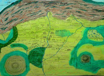 Stadtkarte von Dom. Nicht maßstabsgetreu. (C) Stefan Wepil