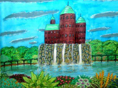 Wasserschloss in Dom (C) Stefan Wepil