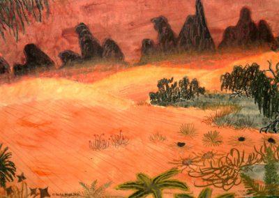 Die Wüste Gordos auf Dorgon (C) Stefan Wepil