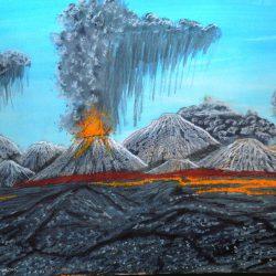 Vavik Vulkane auf dem Kontinent Ragon auf dem Planeten Dom in der Galaxis Dorgon (C) Stefan Wepil