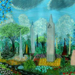 Die Toteninsel Sat auf dem Planeten Dorgon. (C) Stefan Wepil