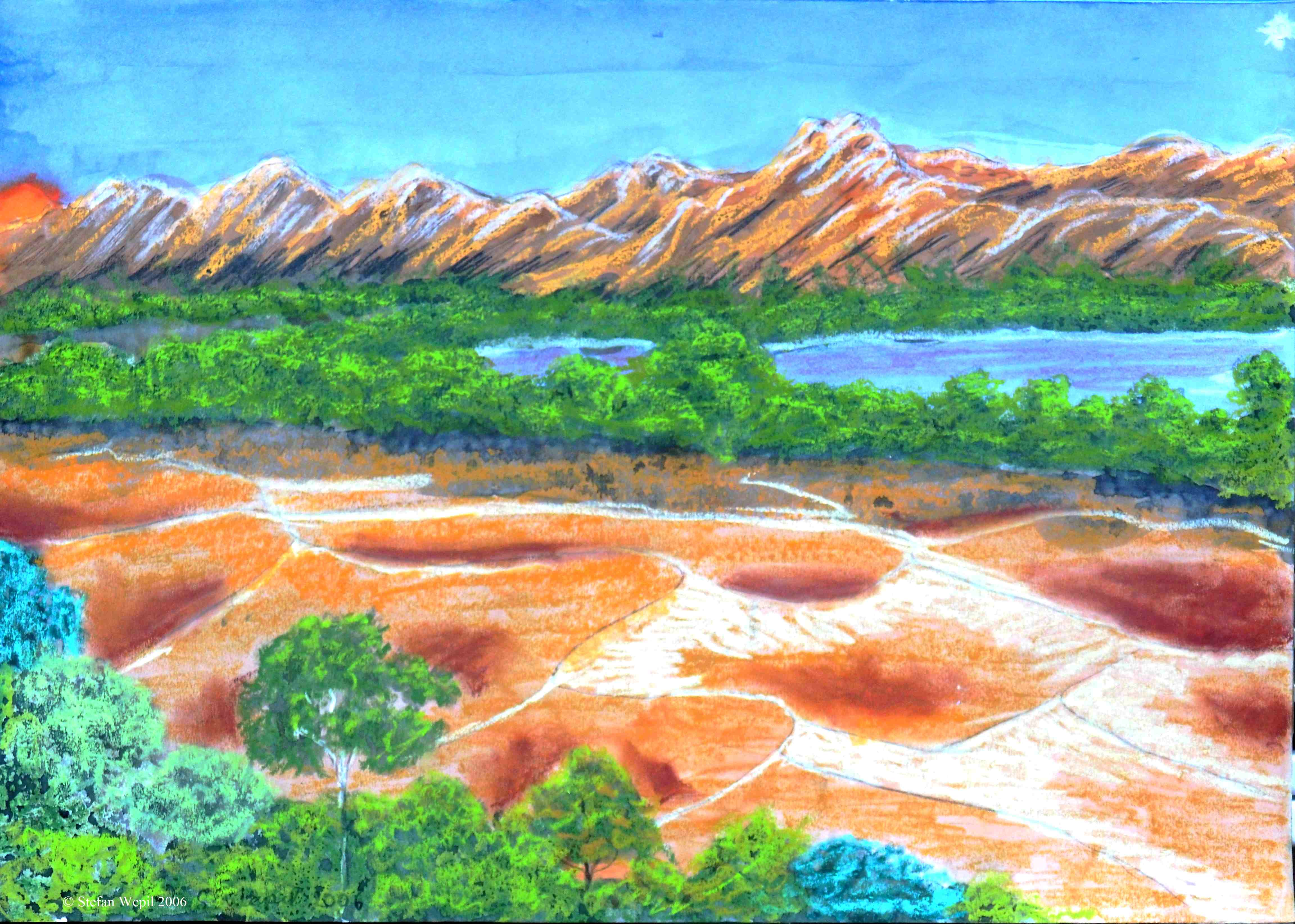 Flussoase von Xamour (C) Stefan Wepil