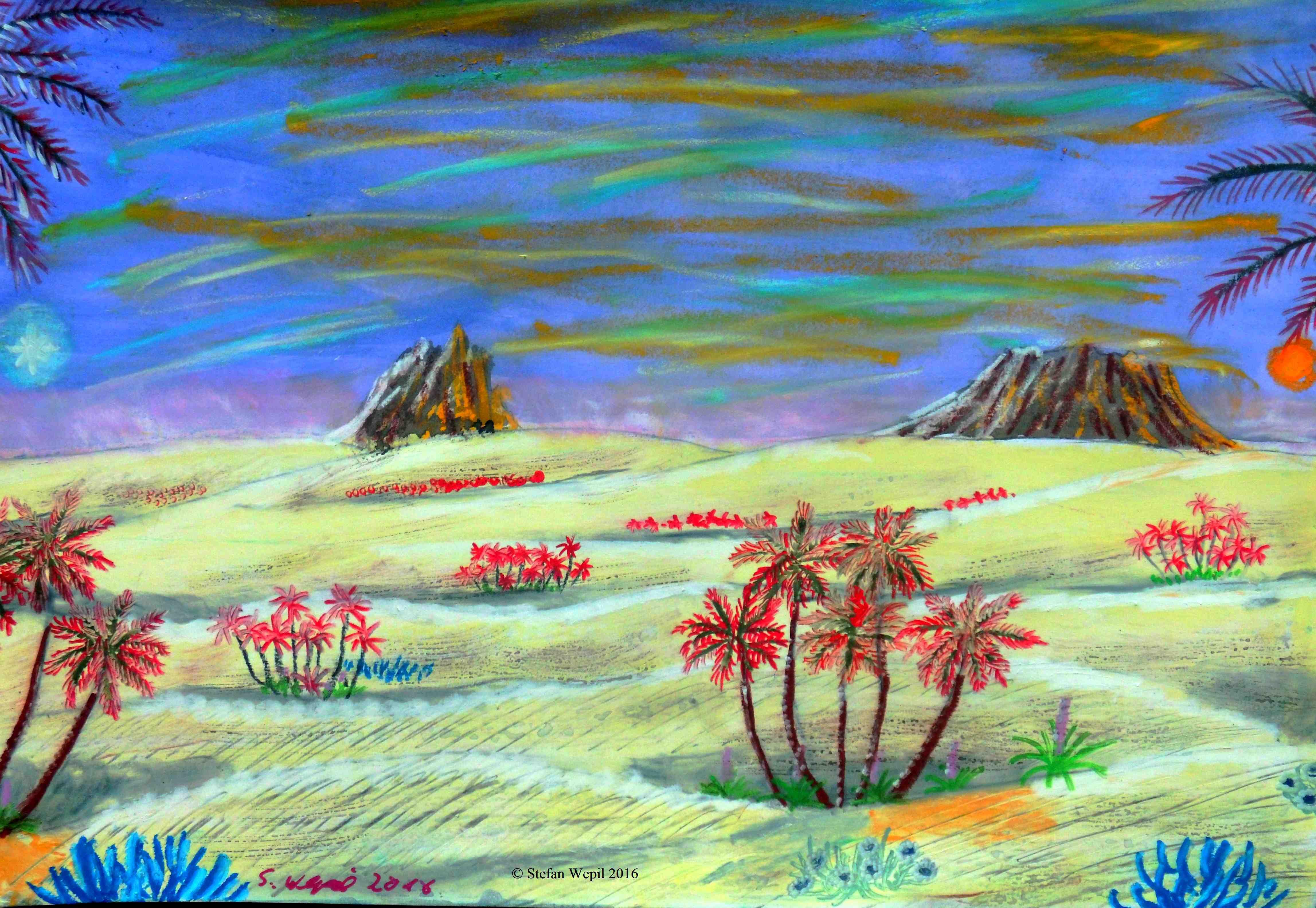 Wüste auf Xamour (C) Stefan Wepil
