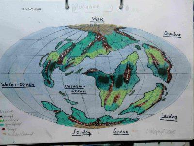 Weltkarte von Bulaban (C) Stefan Wepil